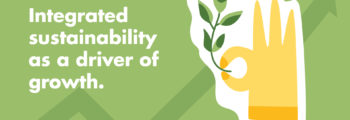 Integrated sustainability as a driver of growth